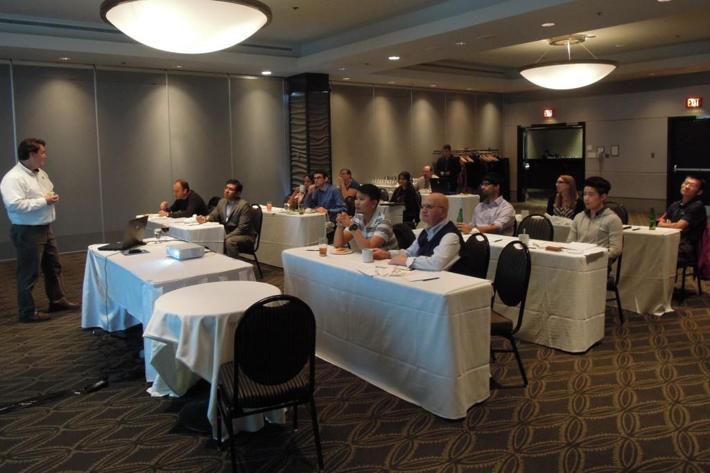 Edmonton User Group Meeting October 2014