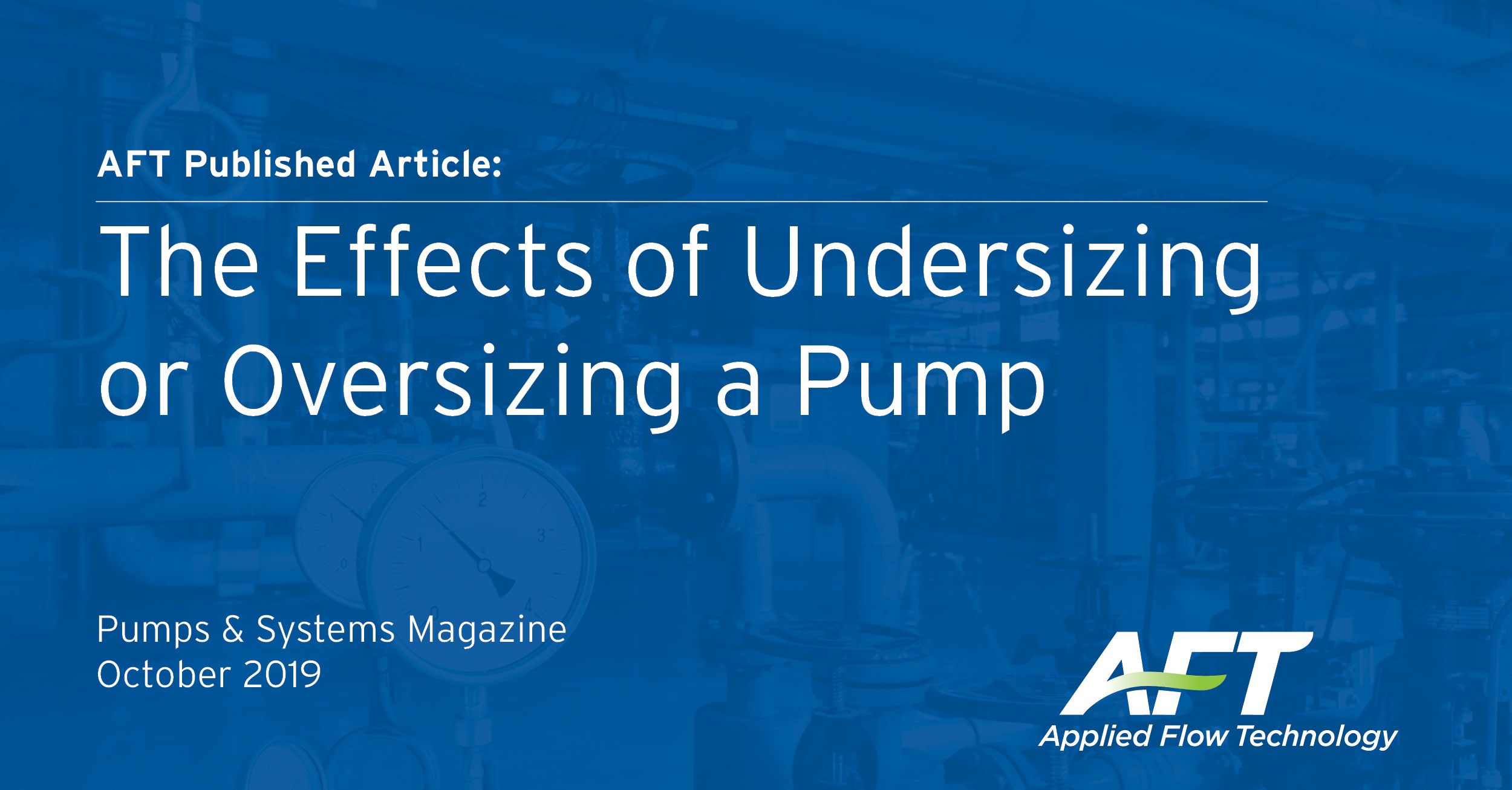 Undersizing or Oversizing Pumps - Sizing Pumps for the Best Efficiency Point (BEP)