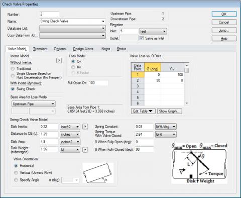 Modeling Torsion Spring Valves in AFT Impulse - AFT Product Tips