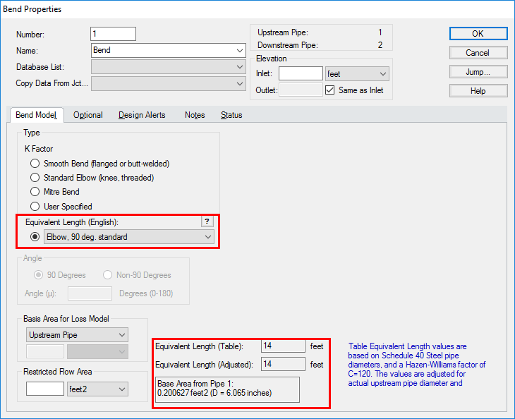 Using equivalent lengths in AFT Fathom - AFT Product Tips