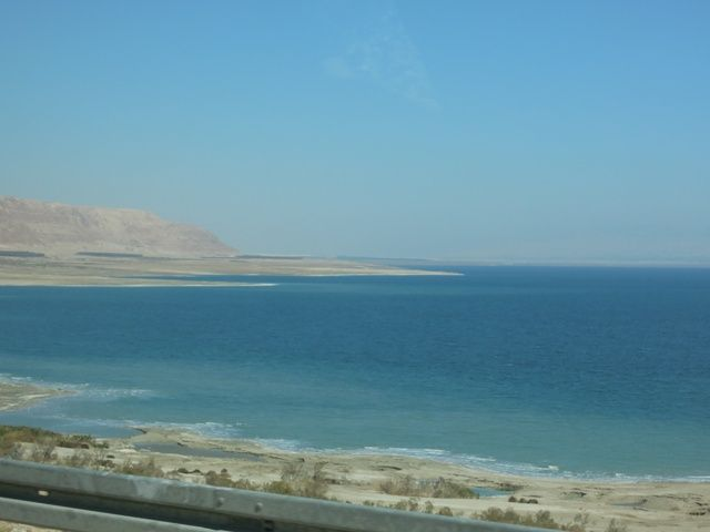 Dead Sea From Near the Shore