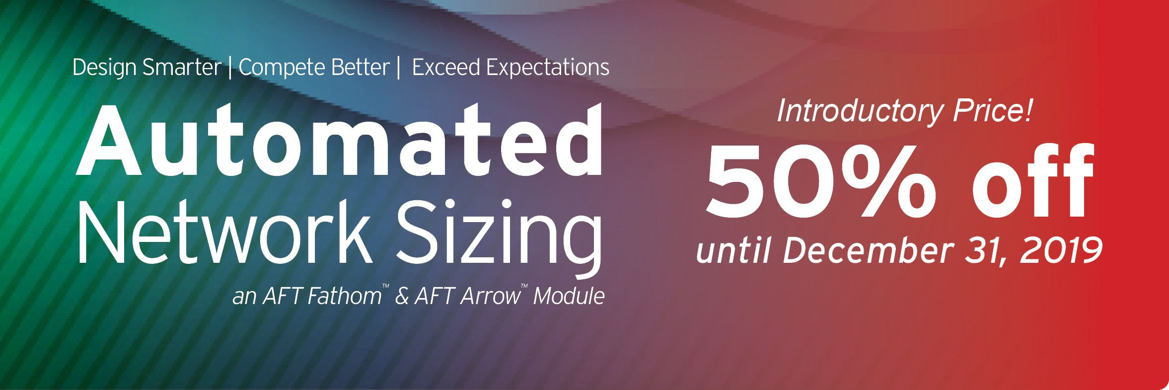 Automated Network Sizing Website Banner